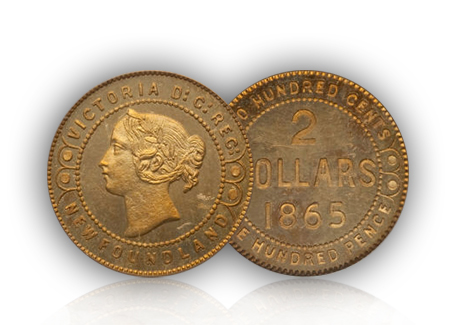 Rare 1865 Gold Canadian Pattern Coin Expected To Sell for $80,000 At Auction