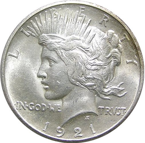 1921 Peace Silver Dollar: Values & Mintages