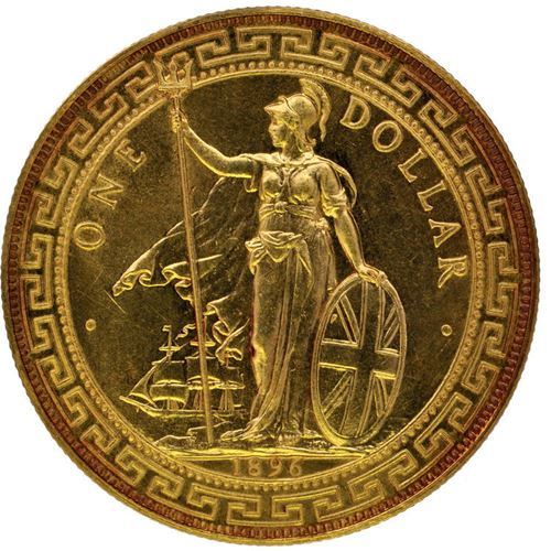 New Auction Record for British Gold Trade Dollar
