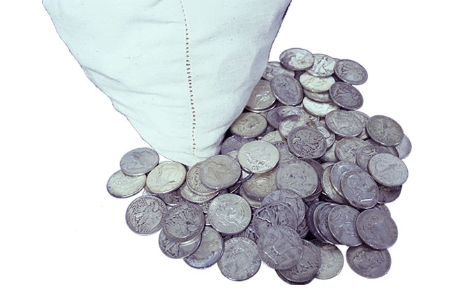 Famous Coin Hoards: Redfield's Silver Dollar Hoard