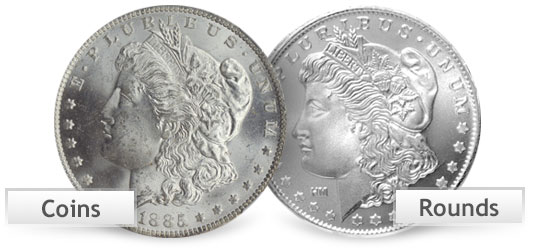Silver Coins vs Silver Rounds - What You Need To Know