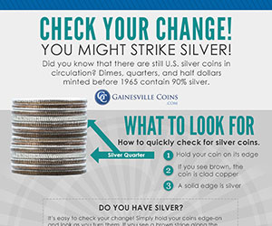 Check Your Change: You Might Strike Silver