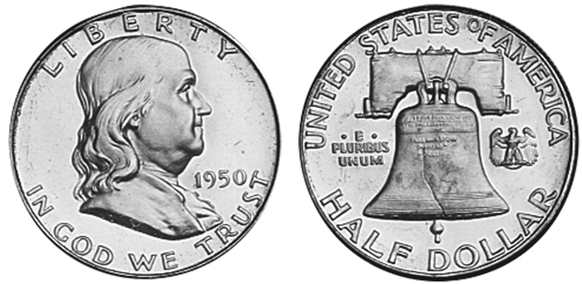 The Most Valuable Franklin Half Dollars