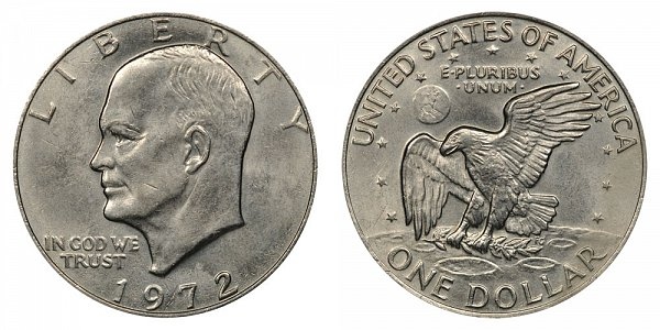 How Much Is a 1972 Eisenhower Silver Dollar Worth?