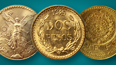 Buy mexican gold pesos