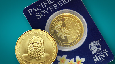 Buy oceania gold coins