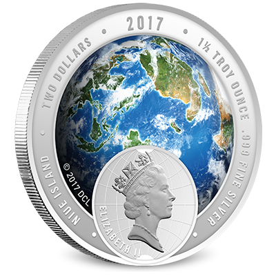 2017 Discovery Channel Asia Silver Coin Obverse