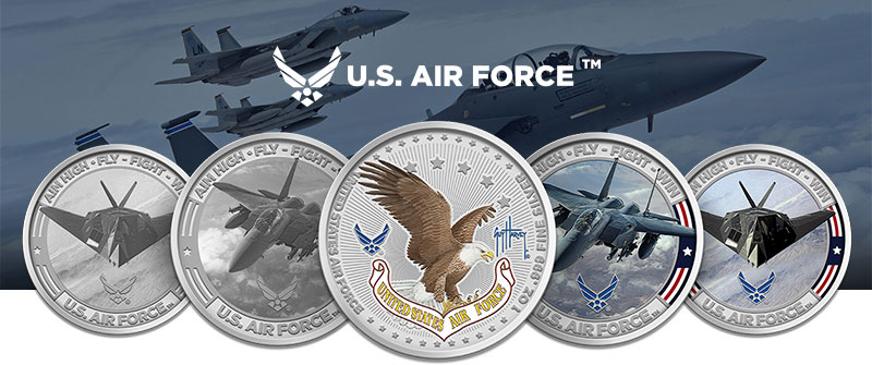 U.S. Air Force rounds banner