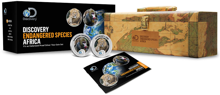 2016 Discovery Channel Silver Coin Set