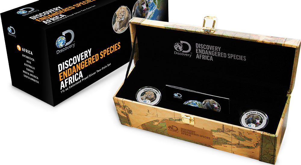 Discovery Africa Box Set
