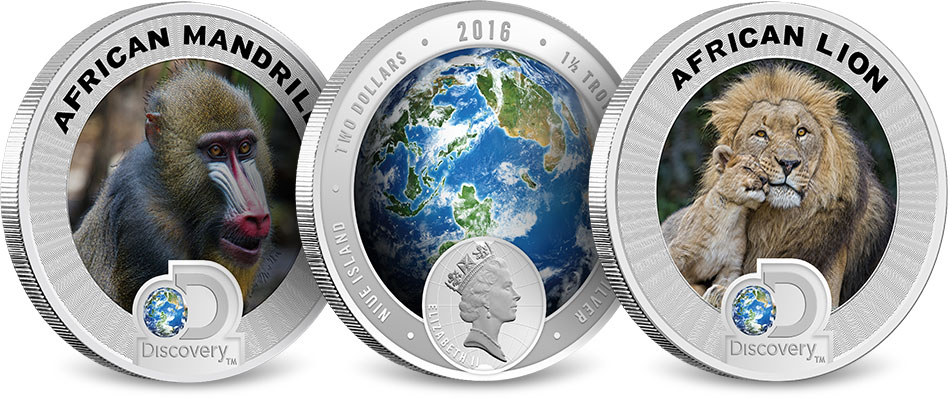 Discovery Channel Africa Coins