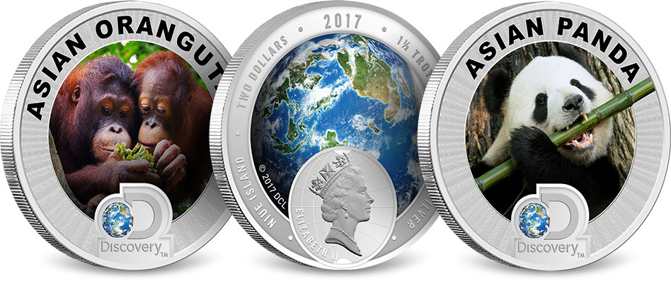 Discovery Channel Asia Coins