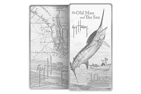 Guy Harvey The Old Man and The Sea Silver Bar
