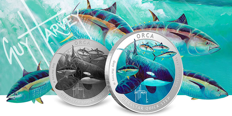 Guy Harvey Orca Silver Rounds