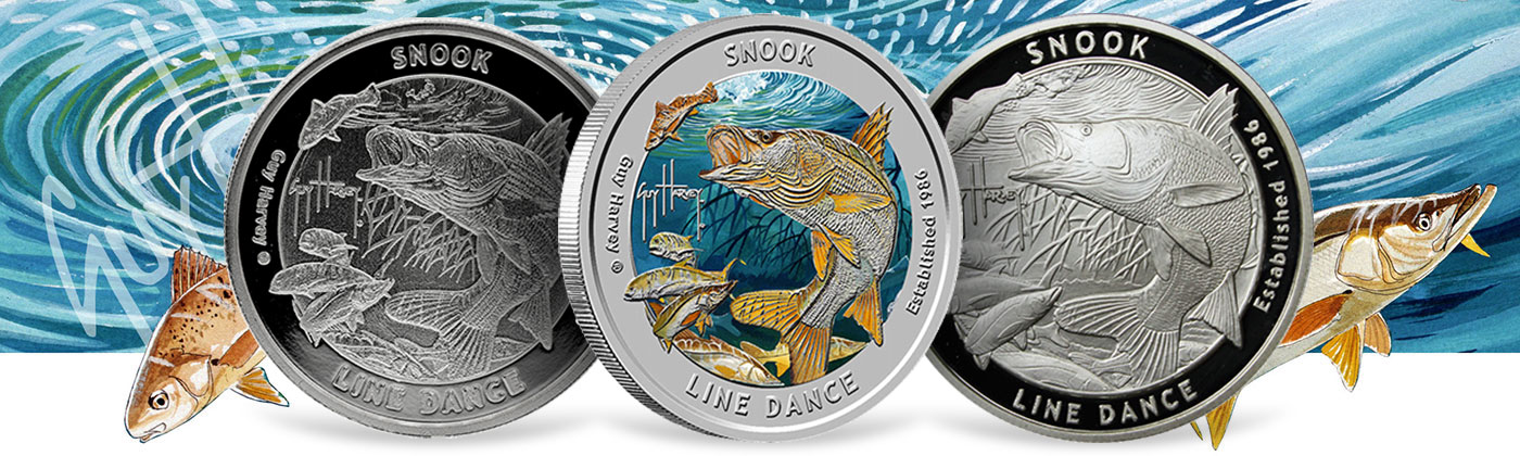 Guy Harvey Snook Silver Rounds