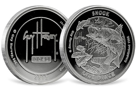 Snook Proof Silver Round