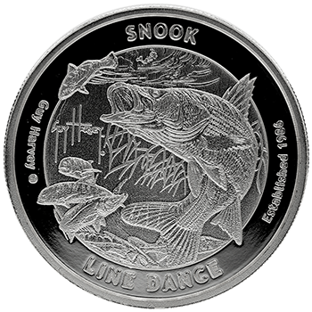 Guy Harvey Snook Silver Proof Rounds