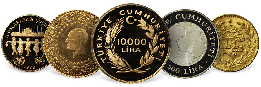 Turkish State Mint Coins