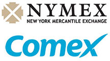 NYMEX and COMEX logo