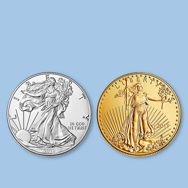Buy 2019 Gold and Silver American Eagle