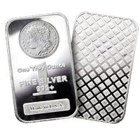 morgan design silver bars fine