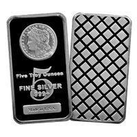 morgan silver bars pure made