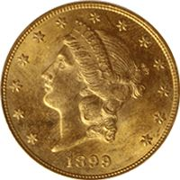 $20 liberty gold double eagle