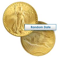 $20 saint gaudens gold double