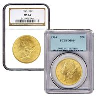 $20 gold liberty double eagle
