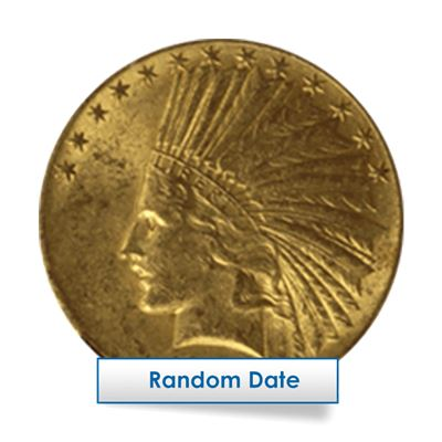 $10 indian gold eagle random
