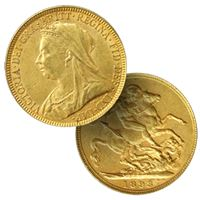 gold british sovereign gold