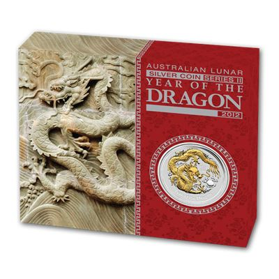 year the dragon gilded silver