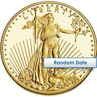 american gold eagle coins dates