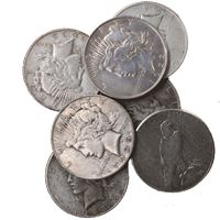 peace silver dollar coins about