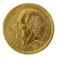 gold mexican pesos random dates