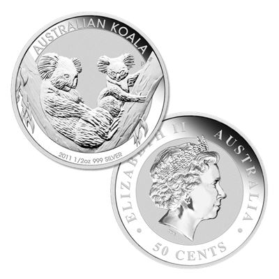 perth mint koala silver pure