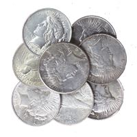 raw peace silver dollar extra