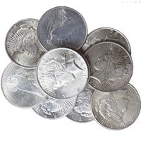 raw peace dollar about uncirculated