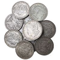 morgan silver dollar very good