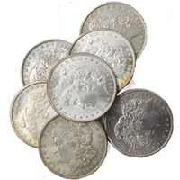 morgan silver dollar about uncirculated