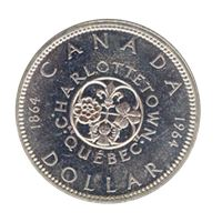 canadian silver dollar charlottetown