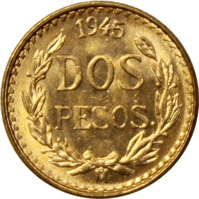 gold mexican pesos gold random