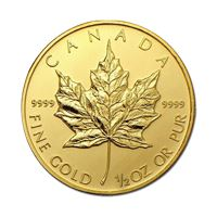 random year gold canadian maple