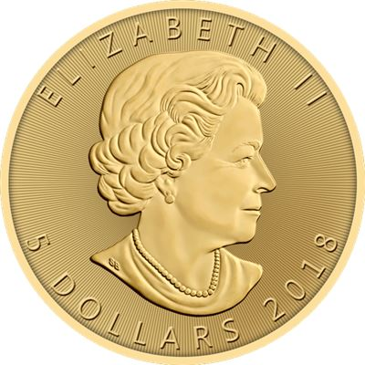 canadian gold maple leaf date