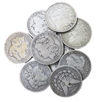 morgan silver dollar cull condition
