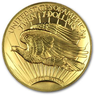 ultra high relief double eagle