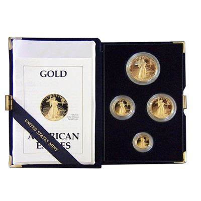 coin proof gold american eagle