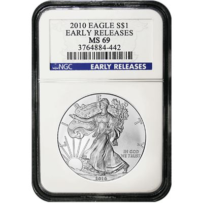 silver american eagle coins ngc