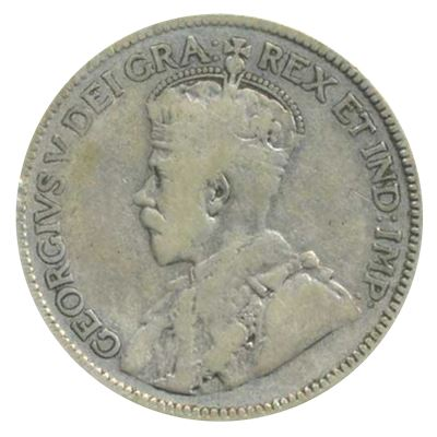 george canadian silver cent coin