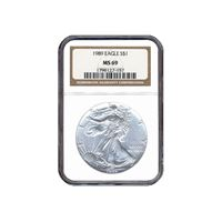 silver american eagle ngc